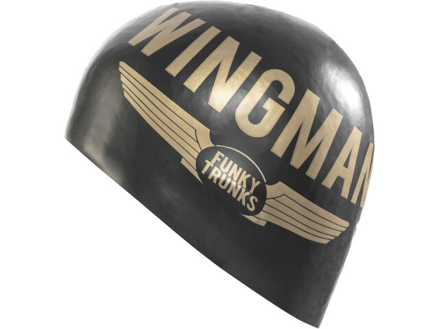 Funky Trunks Silicone Swimming Cap Heren, wingman